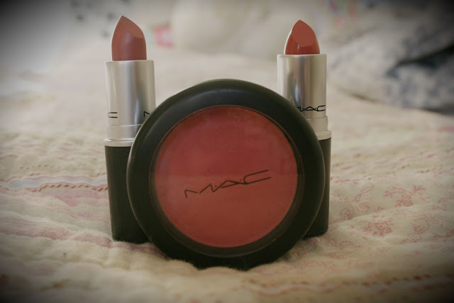 MAC, Haul, Lipstick, Fanfare, Brave, Dollymix