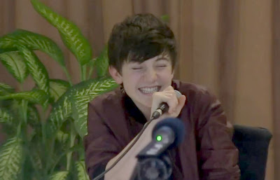 Greyson Chance in the Philippines April 2012 - Press Conference