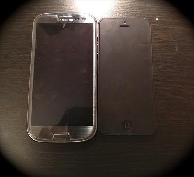titanium_samsun_galaxy_s3_iphone5_önden_gorunus_front