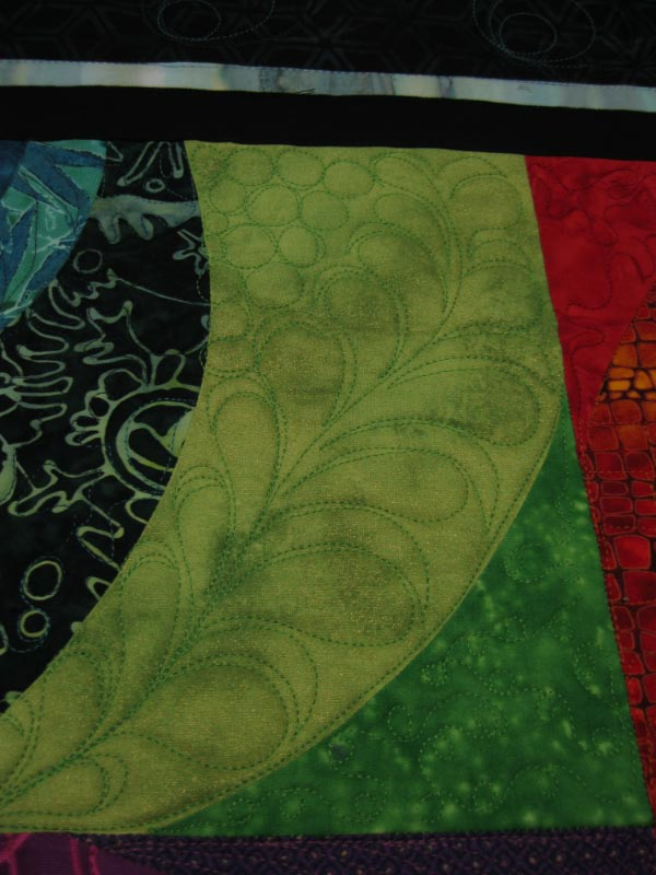 Icandyquilts Radiant Sun Quilting