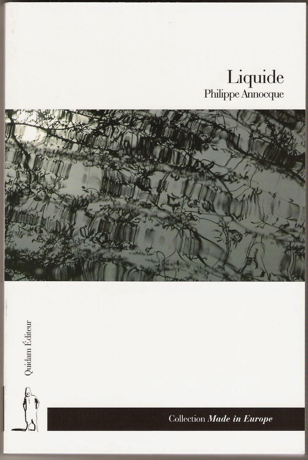Liquide, Quidam éditeur, 2009.