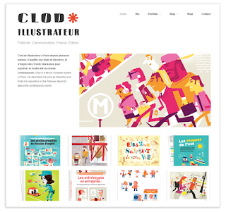 Clod illustratreur : le site