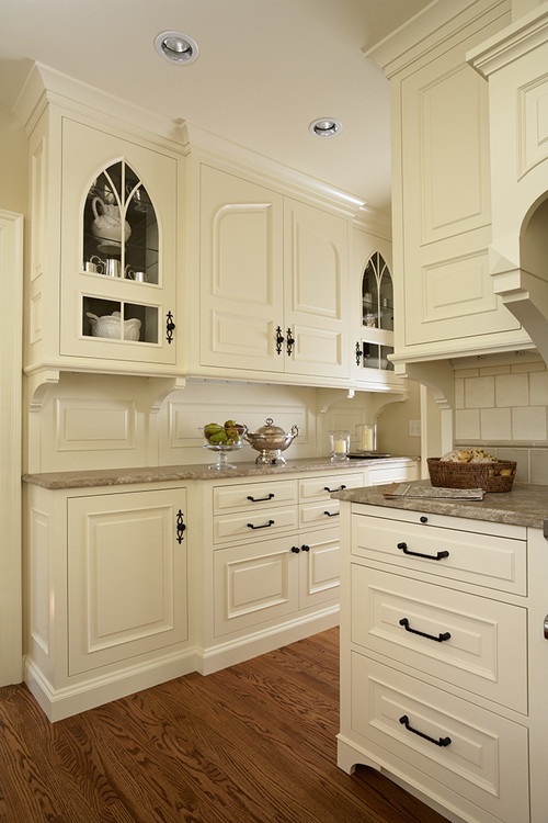 kitchen cabinets for a tudor content in a cottage