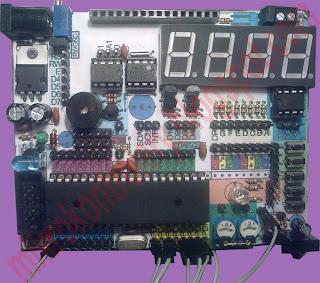 Test board - zestaw uruchomieniowy ATmega32.