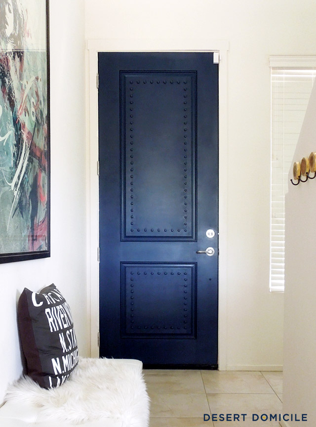 A little backstory Iu0027m a huge fan of The Big Bang Theory and have always loved the look of their studded apartment doors. & DIY Big Bang Theory Inspired Door | Desert Domicile