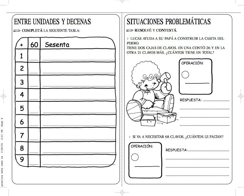 Cultura Infantil: Fichas de matematicas para imprimir