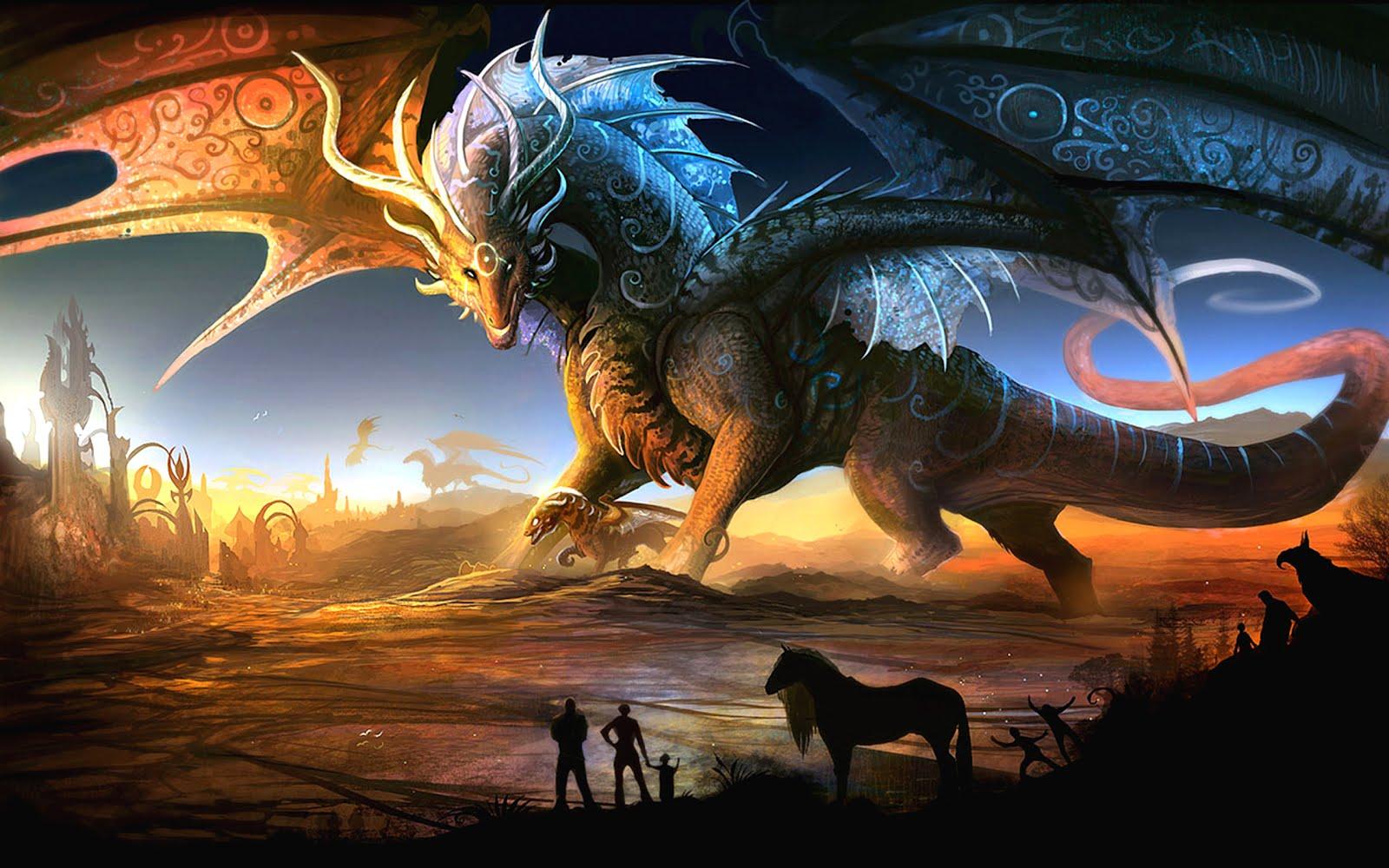 De paseo por la tierra de los dragones (Imágenes Fantásticas)