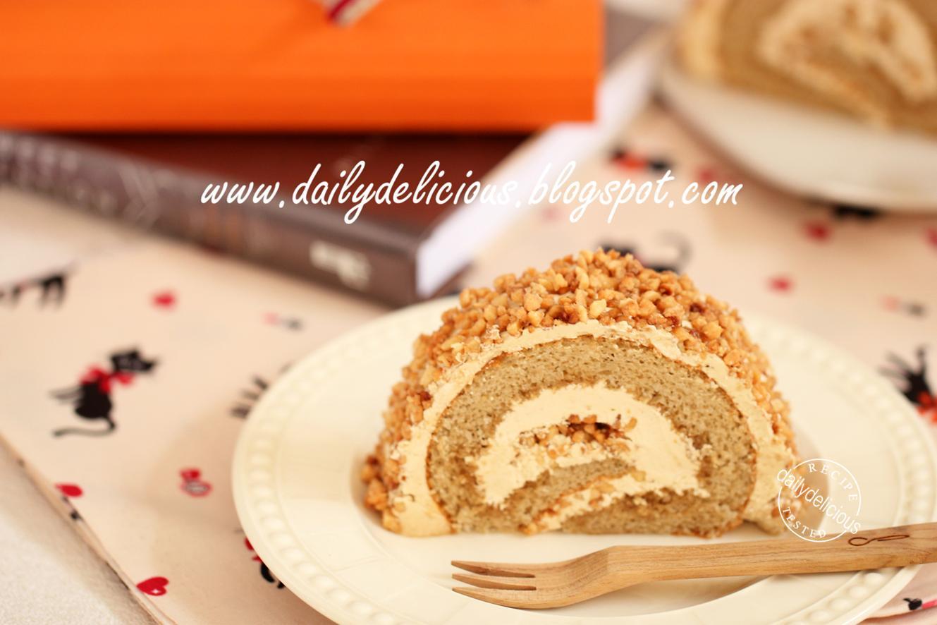 Vanilla Roll Cake Ingredients