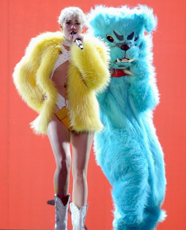 Miley Cyrus en Bangerz Tour 2014
