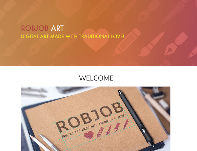 ROBJOB ART website