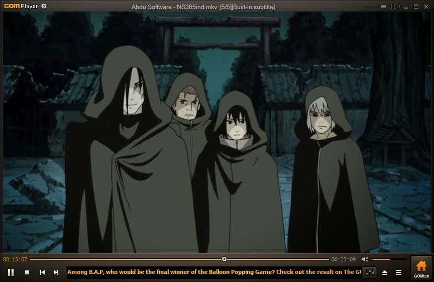 Abdu Software Film Naruto Shippuden Episode 365 Bahasa Indonesia