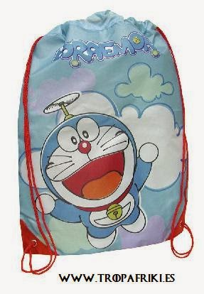 Bolsa de cuerdas Doraemon 17,95€ mochila cuerdas