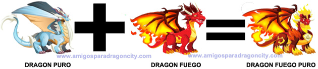 como sacar el dragon fuego puro en dragon city
