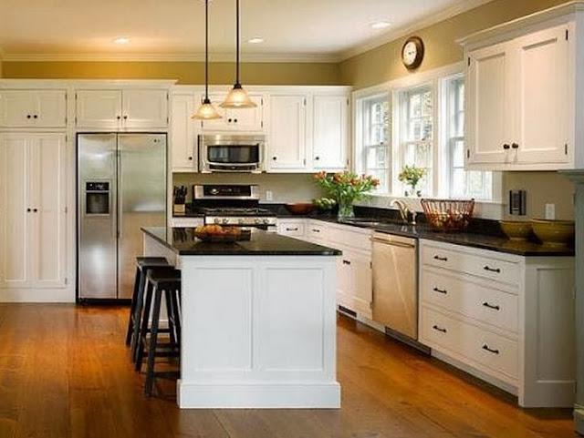 L-Shape Kitchen Cabinet