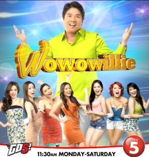 In its continuing efforts to beef up all-day viewership, the Kapatid Network positions Willie Revillame's new variety game show Wowowillie in the noontime slot starting January 26 (Saturday), 11:30am-2:30pm. Coinciding...