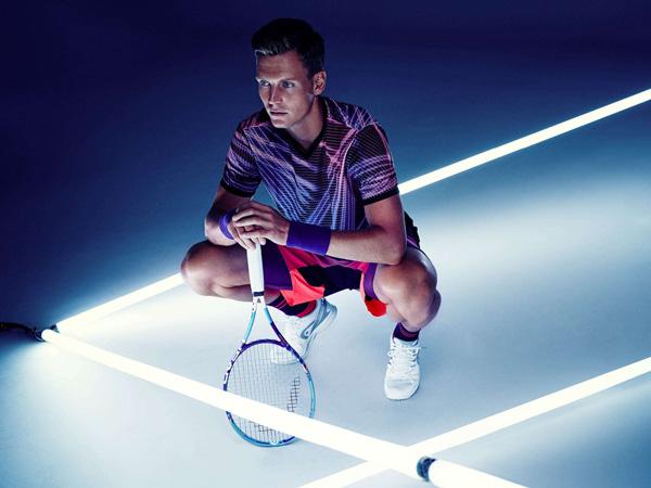 colección tenis HM Tomas Berdych camisetas pantalones y accesorios