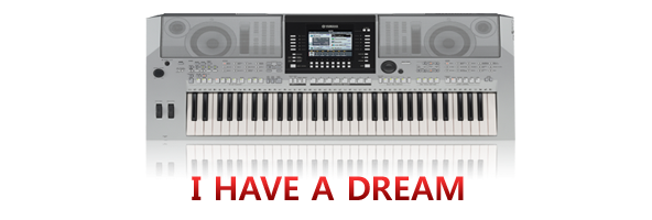 learn to play i have a dream on keyboard