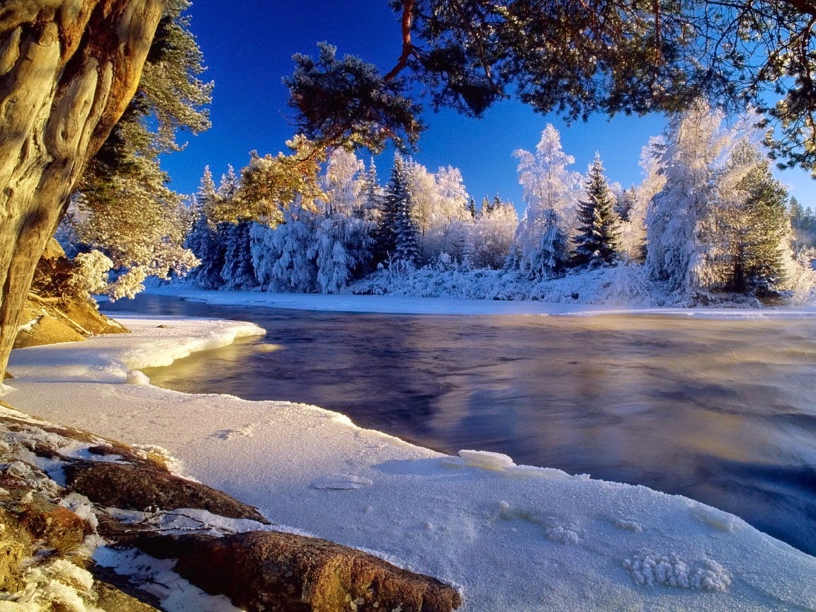 free desktop wallpaper winter