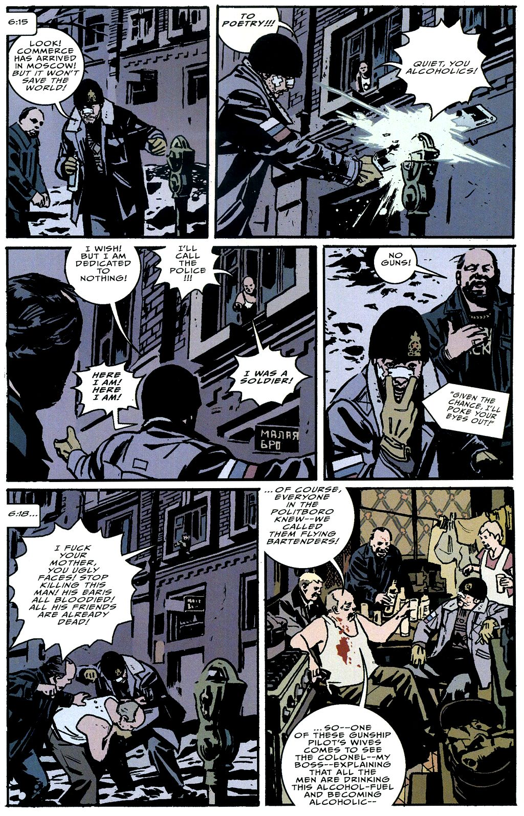 Read online The Winter Men comic -  Issue #4 - 18
