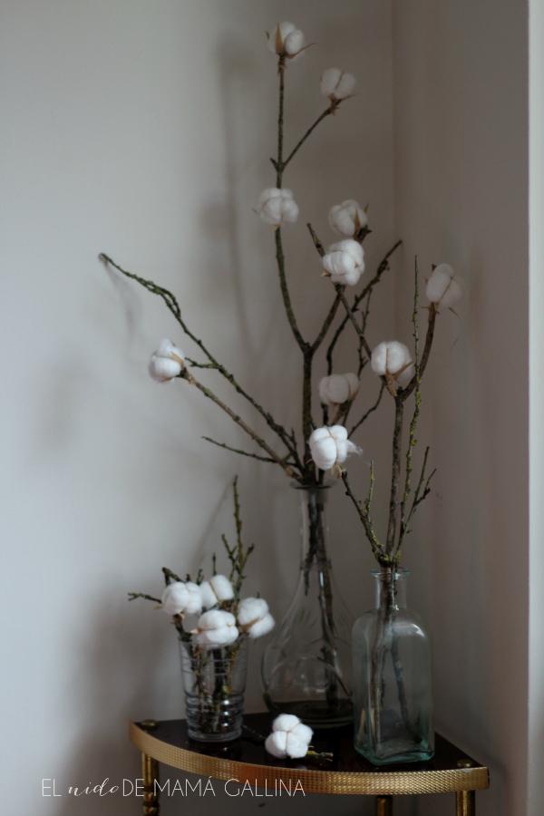 Diy c mo hacer una rama de algod n el flor video - Ramas decoradas ...