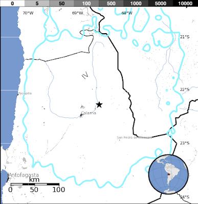 SISMO 5,8 GRADOS EN CHILE, 23 DE AGOSTO 2013