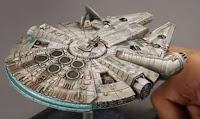 Cómo pintar el Millennium Falcon