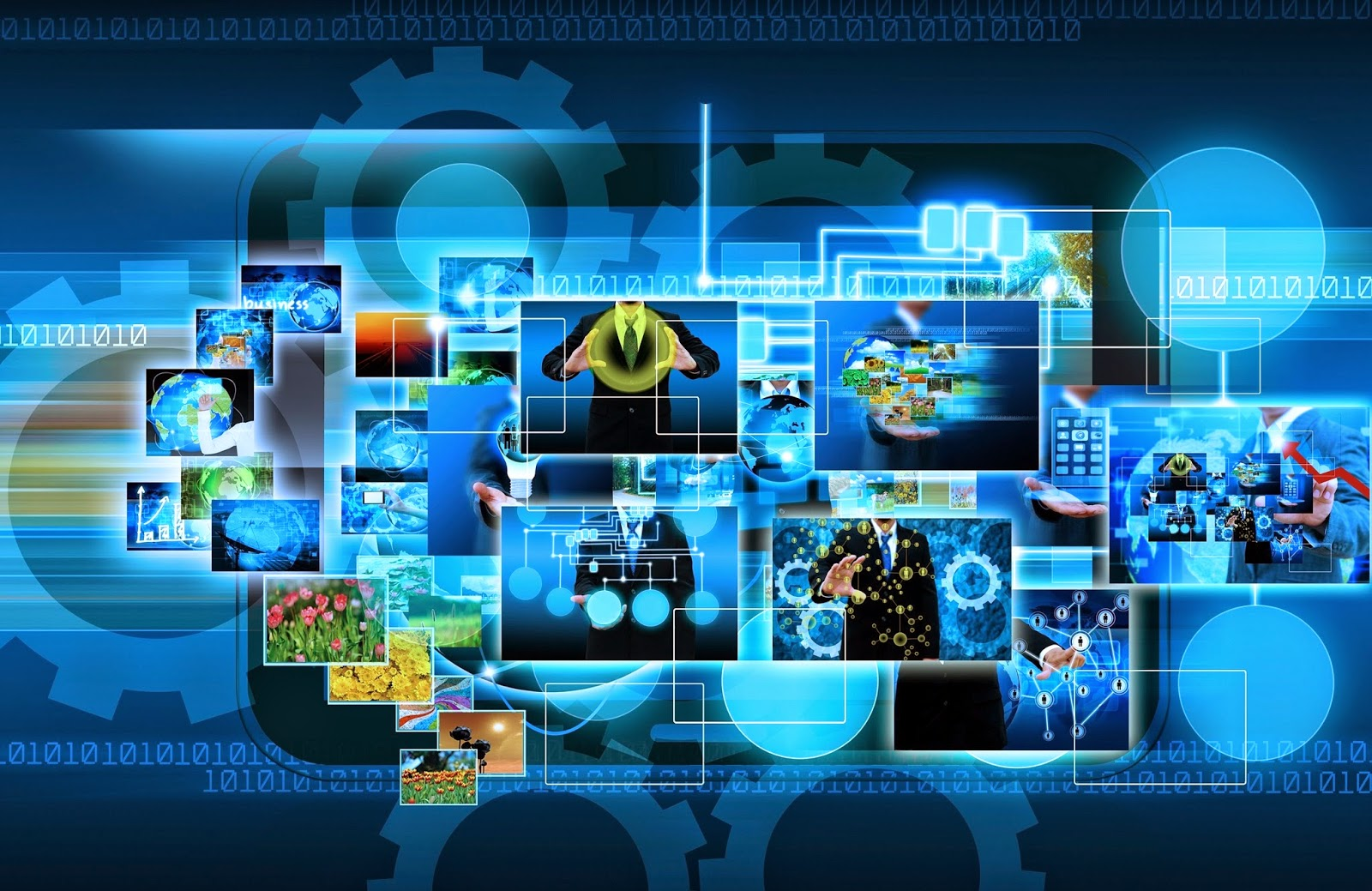 Future Technology HD Wallpaper