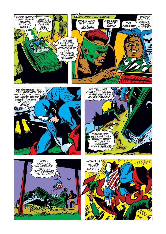 Captain America (1968) Issue #134 #48 - English 14