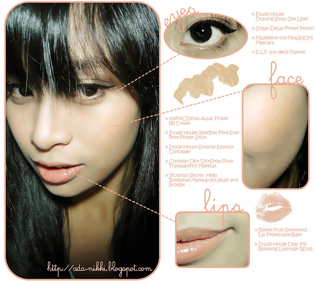 Ada Agupitan Everyday Peach Neutral Natural Makeup FOTD