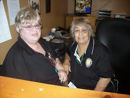 Barbara and Vicki