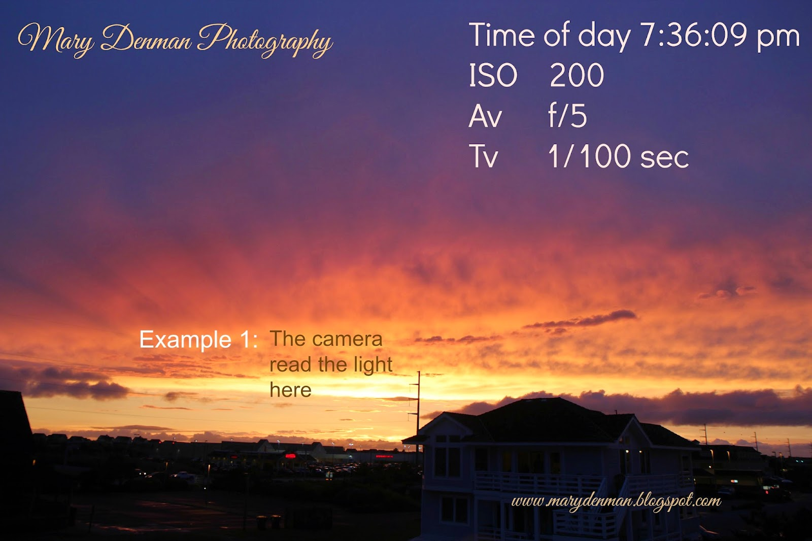 how to take sunset photos