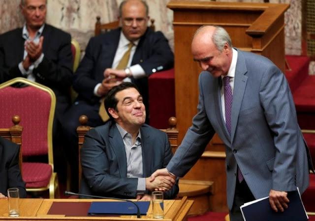 """Συγκυβέρνηση ΣΥΡΙΖΑ - ΝΔ """"για το καλό της πατρίδας"""" προτείνει ο Μεϊμαράκης στον Τσίπρα"""