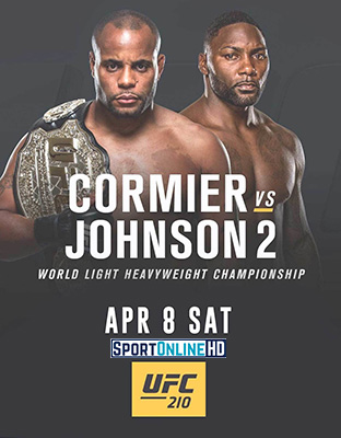 Ver UFC 210 Cormier vs Johnson 2 en VIVO