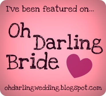 We've been featured on Oh Darling Bride