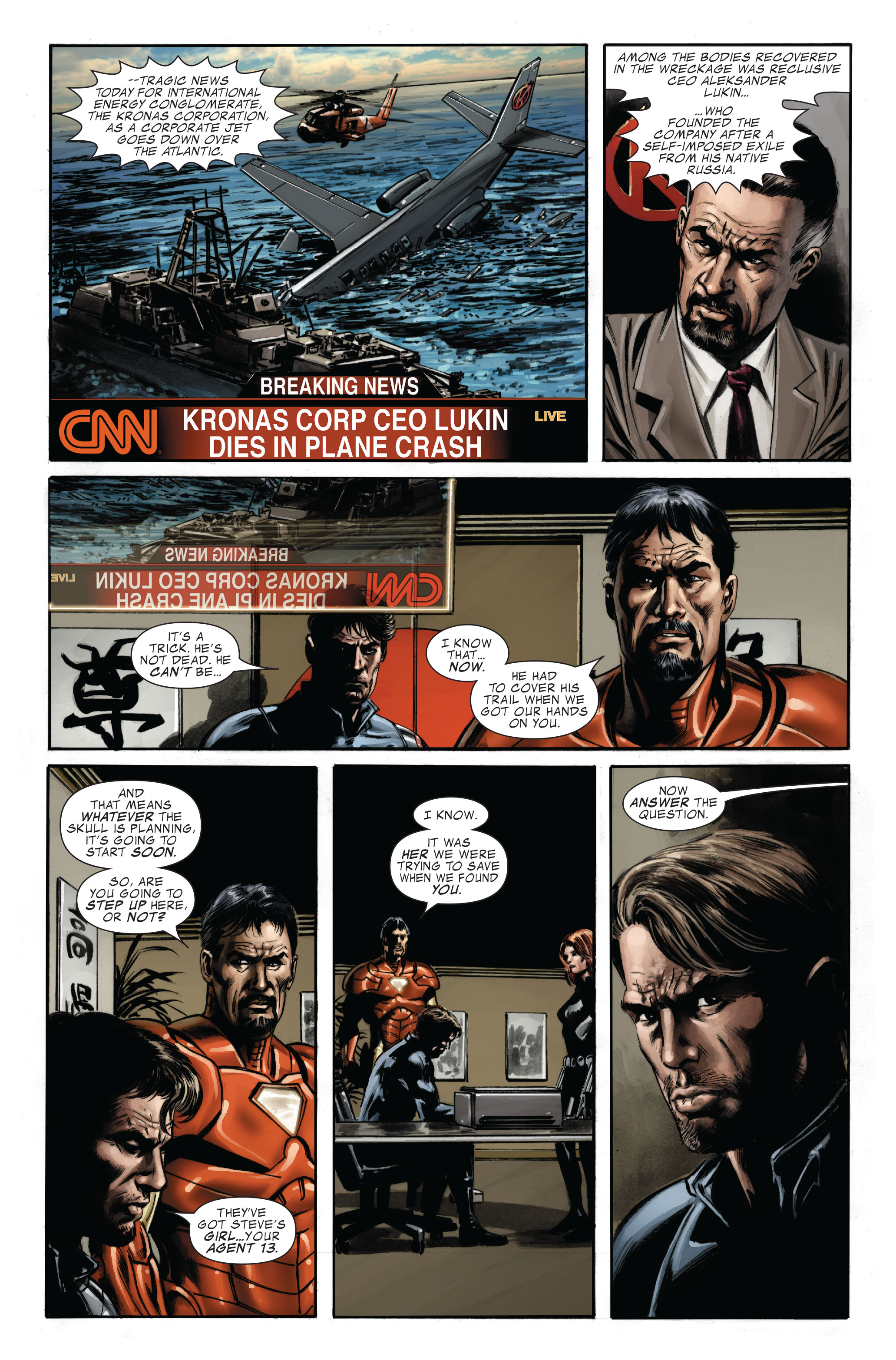 Captain America (2005) Issue #33 #33 - English 22