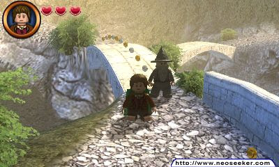 LEGO the lord of the Rings 3DS