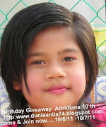 Birthday GA Adridiana 10th dah