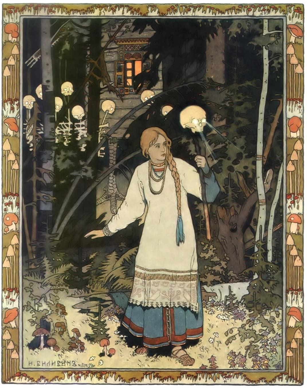Astrology of Now:  Vasilisa The Beautiful and Baba Yaga