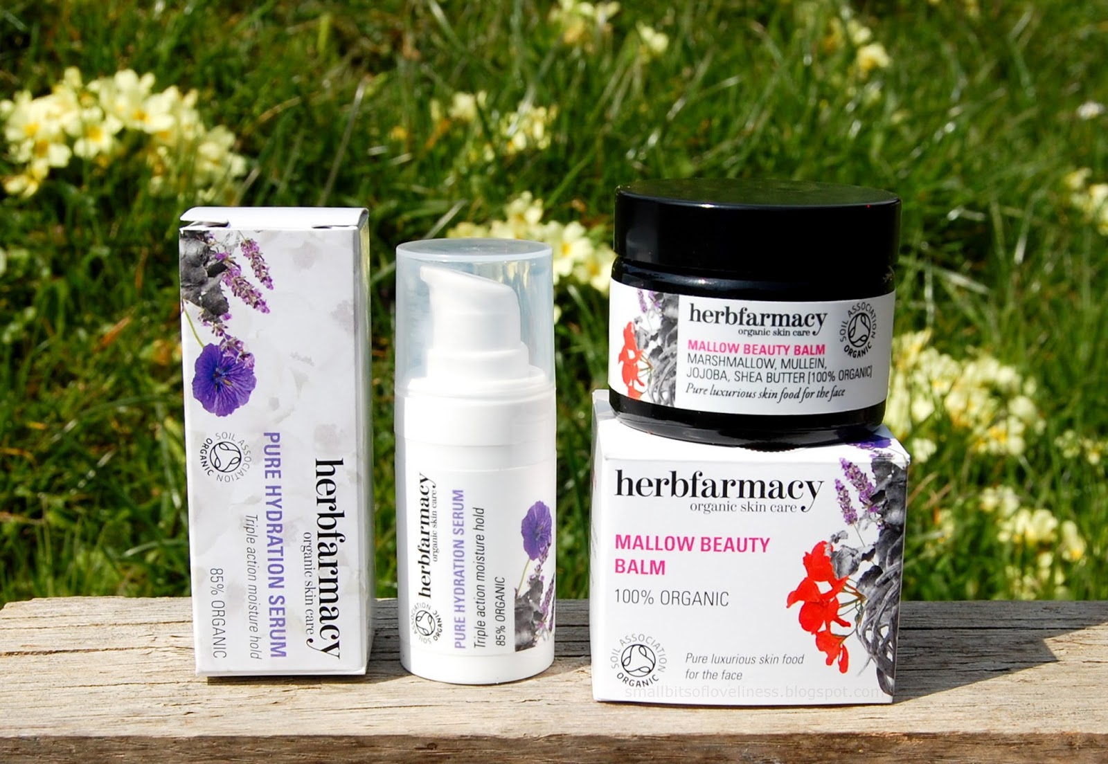 Herbfarmacy Pure Hydration Serum, Mallow Beauty Balm
