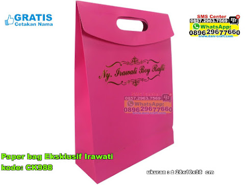 Paper Bag Eksklusif Irawati