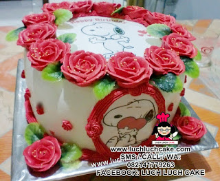 Kue Tart Snoopy Daerah Surabaya - Sidoarjo