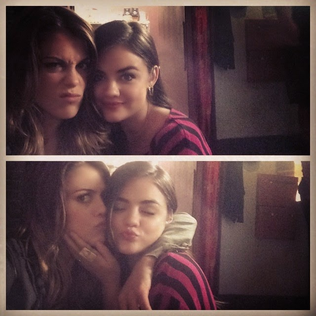Lucy Hale and Lindsey Shaw