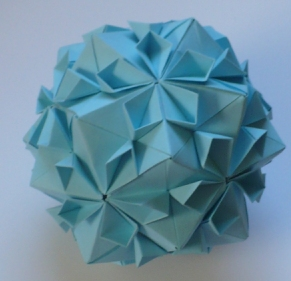 I Used Glue To Assemble These Balls Wanted Make Sure The Ball Stay In One Piece Had So Many Of Origami