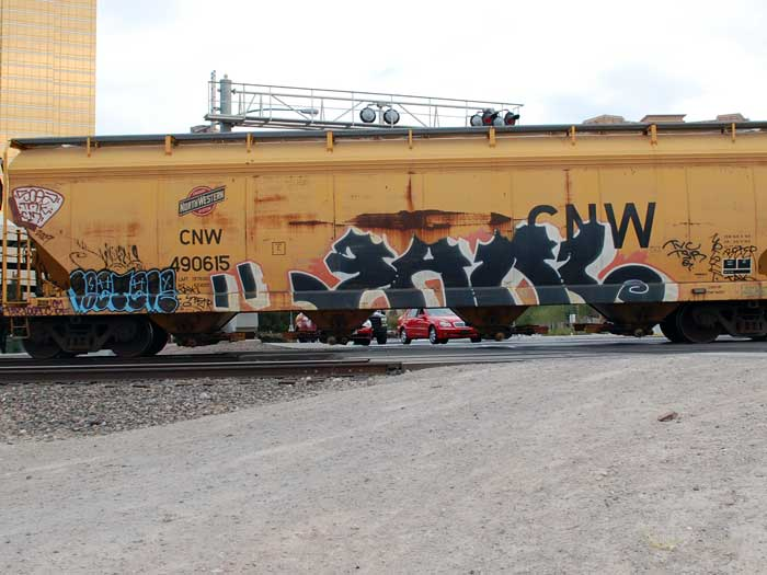 graffiti on trains - vegas art - train graffiti art
