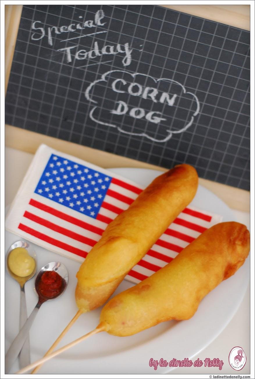 la dinette de nelly le corn dog ou beignet de saucisse emporter quand cameron diaz m 39 inspire. Black Bedroom Furniture Sets. Home Design Ideas