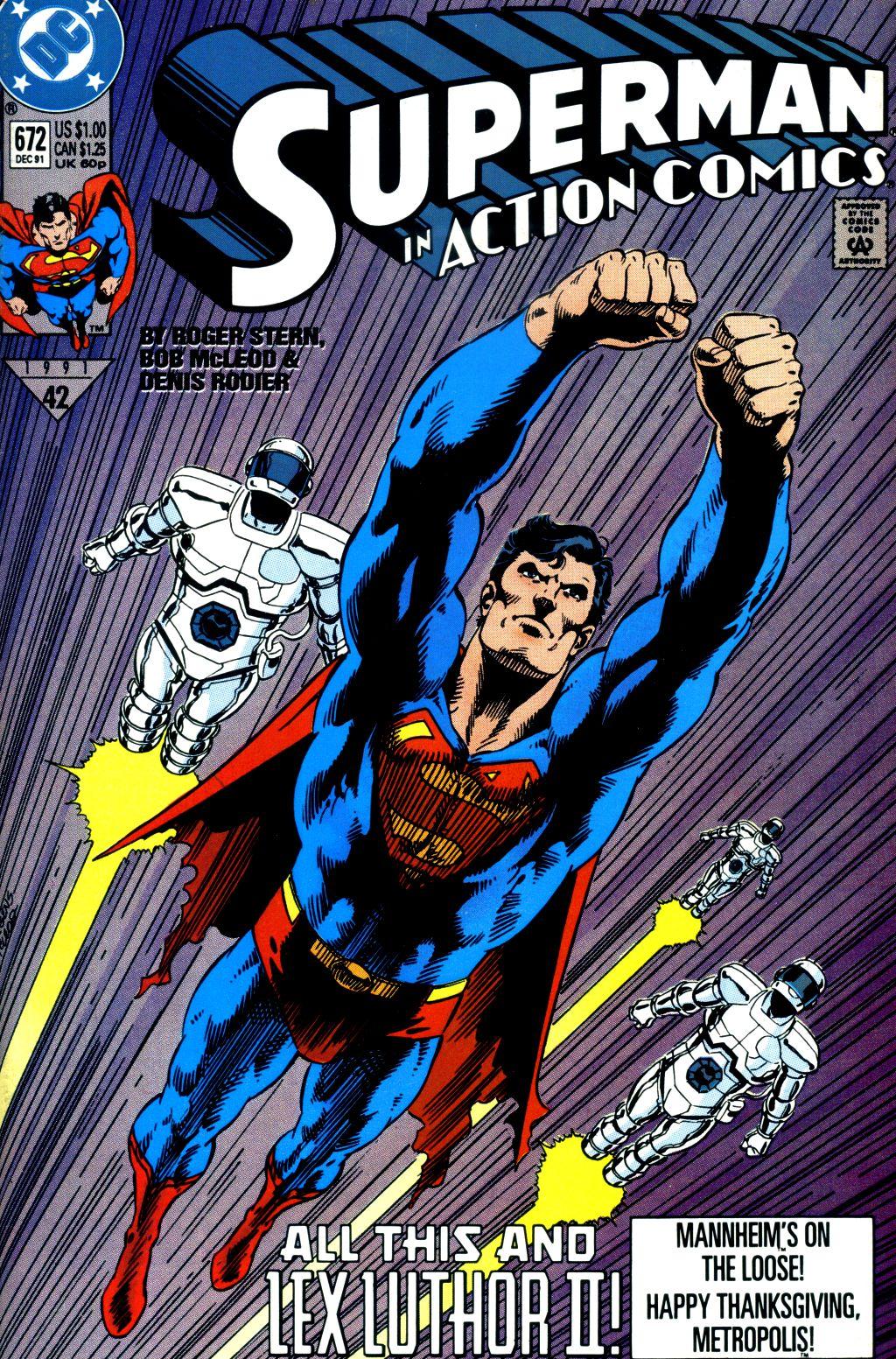 Action Comics (1938) 672 Page 1