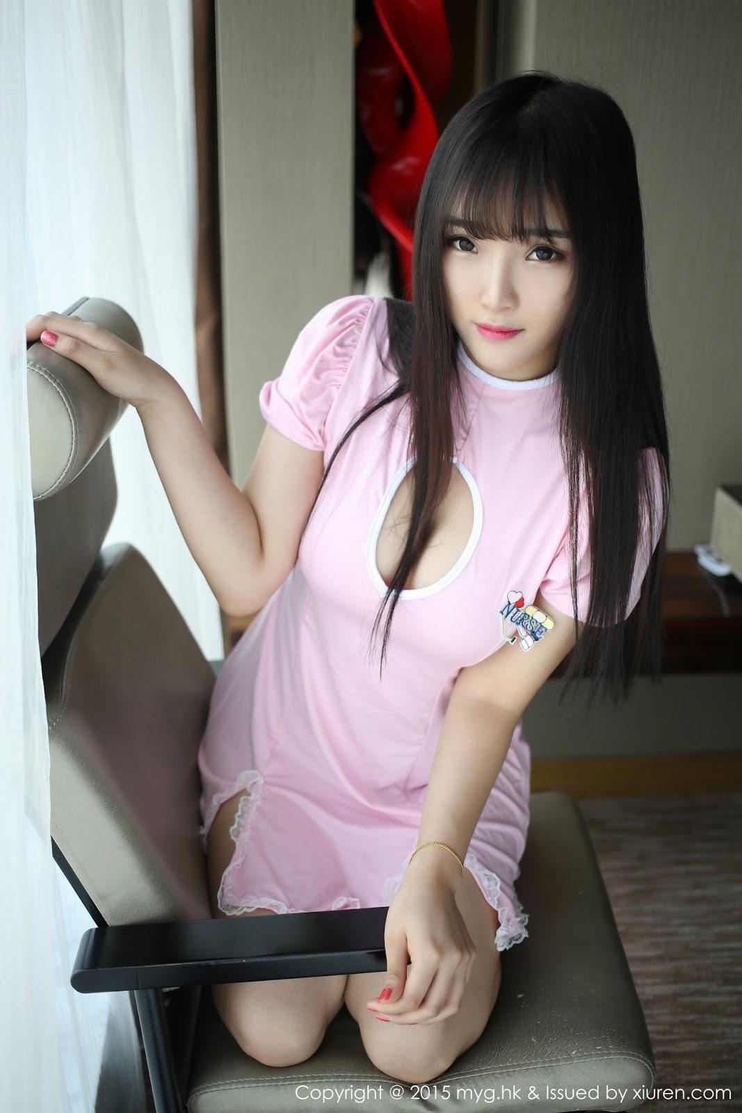 0046 - Sexy Girl Model MYGIRL VOL.118