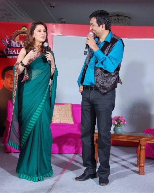 Madhuri Dixit at Maha Challenge Registrations at Indore and jaipur photos sexy stills