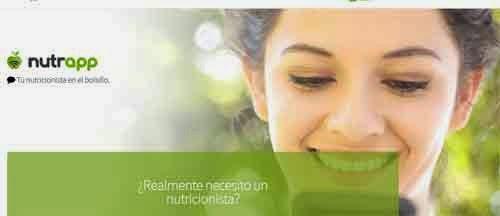 Nutrapp es una aplicación de nutrición