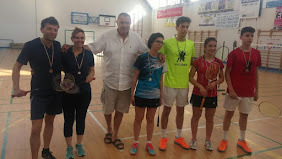Atleti e atlete del Badminton Senigallia